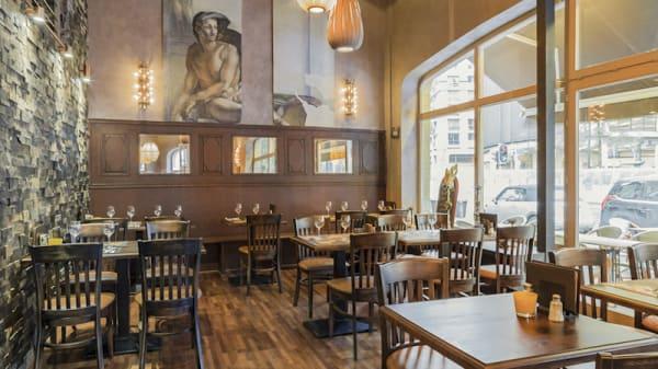 Vue salle - Grimbergen Café, Brussels