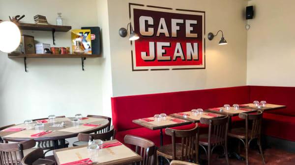 Vue de l'intérieur - Café Jean, Paris