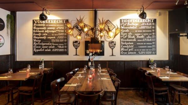 Restaurant - Eetcafé Knabbel en Babbel, Amsterdam
