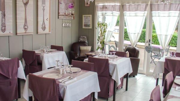 Salle avec décoration vintage - Le Boudoir, Jouars-Pontchartrain