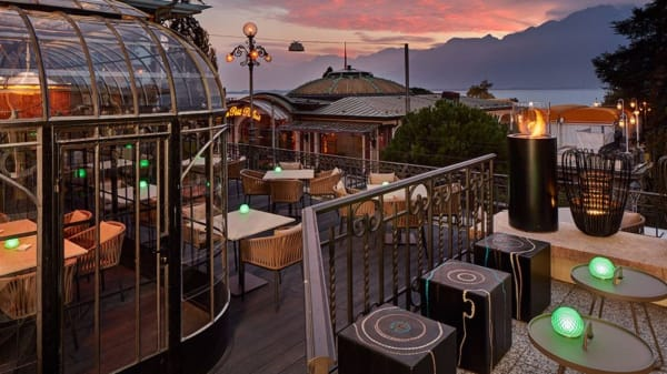 Terrasse - MP's Bar & Grill, Montreux