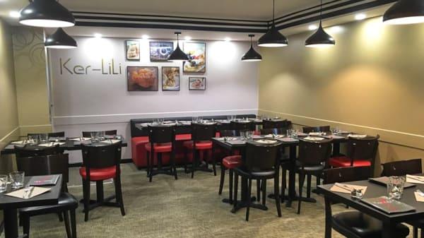 Salle du restaurant - Ker Lili, Courbevoie