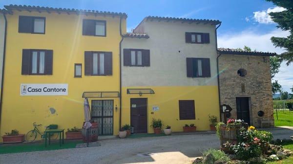 Facciata - Casa Cantone, Bevagna