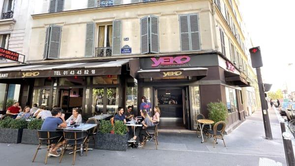 Yeko, Paris