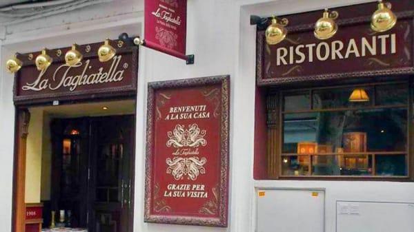 Vista fachada - La Tagliatella Zurita, Zaragoza