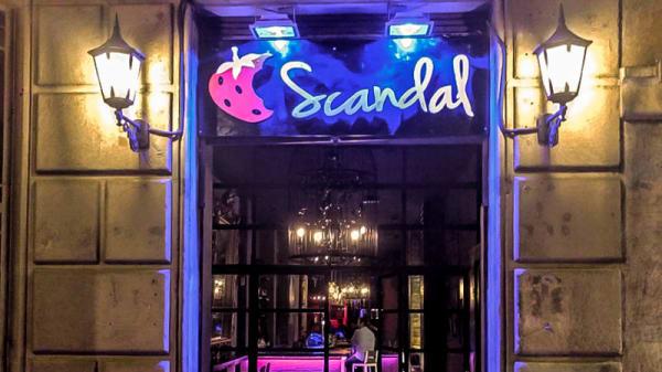 Entrada - Scandal Afrodisiac Resto Bar, Barcelona