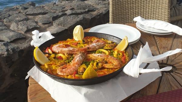 Paella Marinera para 2 personas - Restaurante Mayte, Arona