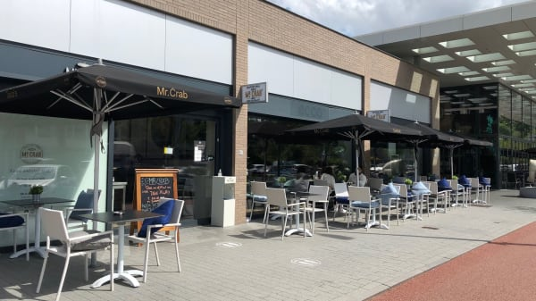 Terras - Mr. Crab Zuidas, Ámsterdam