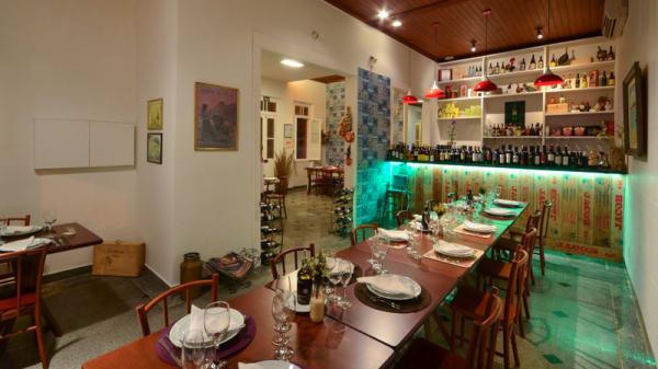 Sala do restaurante - Porto do Bacalhau, Vila Velha