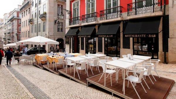 Esplanada - Taberna do Lis, Lisbon