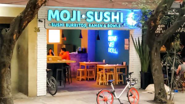 Entrada - Moji Sushi, Mexico City