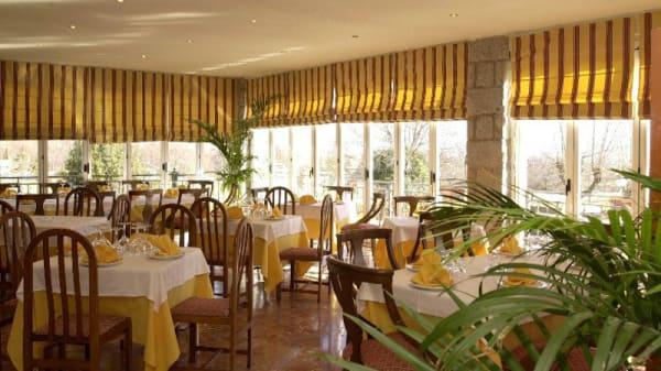 Sala del restaurante - Las Gacelas, Becerril De La Sierra
