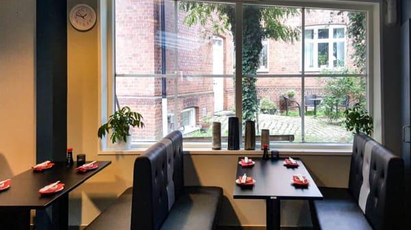 Restaurangens rum - Aiko Sushi, Lund