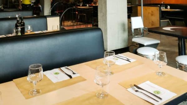 Sala del ristorante - L'Insalata Ricca - Acri Montagnola, Rome