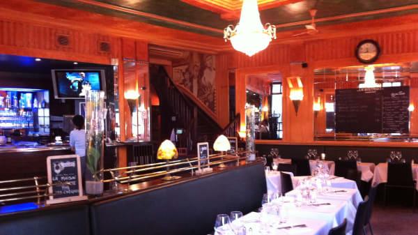 Salle du restaurant - Le Bistrot des Quinconces, Bordeaux