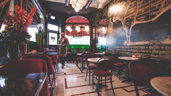 Het restaurant - Monsieur Rouge, Haarlem
