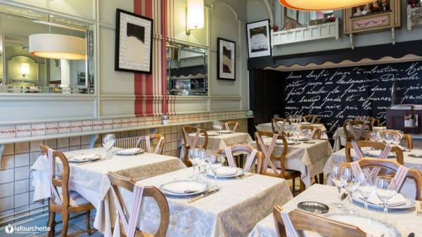 Salle du restaurant - Le Vivarais, Lyon