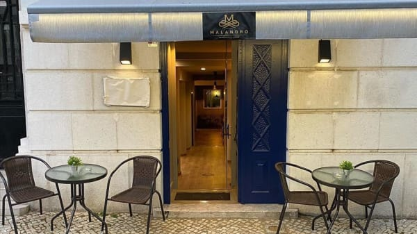 Entrada - Malandro Restaurante & Lounge, Lisboa