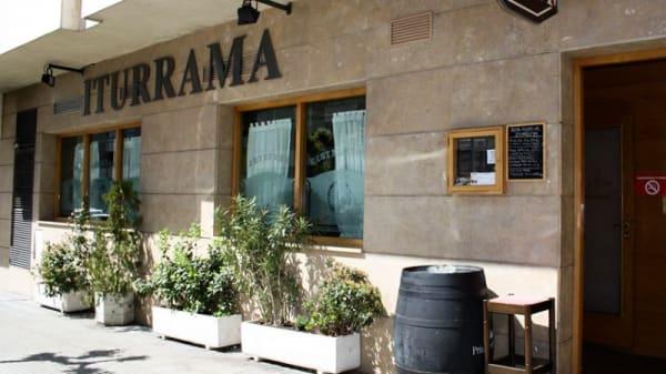 Entrada - Asador Iturrama, Pamplona