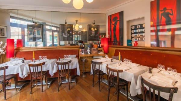 Salle du fond - Deuz Restaurant, Paris
