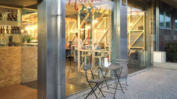 fachada do restaurante - Nor'três, Póvoa de Varzim