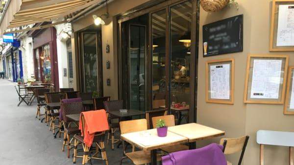Terrasse - PataKrep, Paris