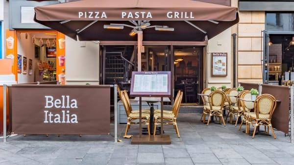 Terrace - Bella Italia - Cranbourn Street, London