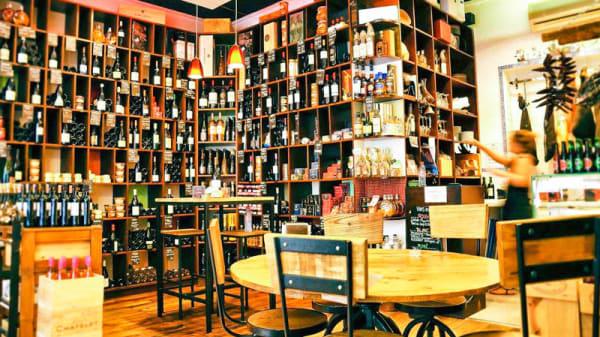 Vue de l'intérieur - Gourmet Gourmand, Paris