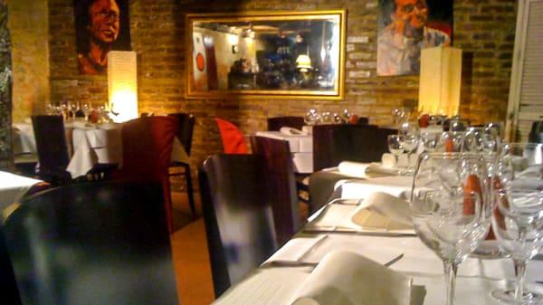 Table dressée - Chez Papa Jazz Club, Paris