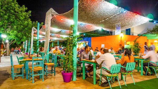 La terraza - Ke Bolà Cuba, Eivissa