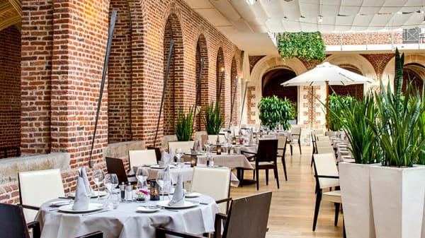 Restaurant - Le Jardin du Cloître - Hôtel Couvent des Minimes, Lille