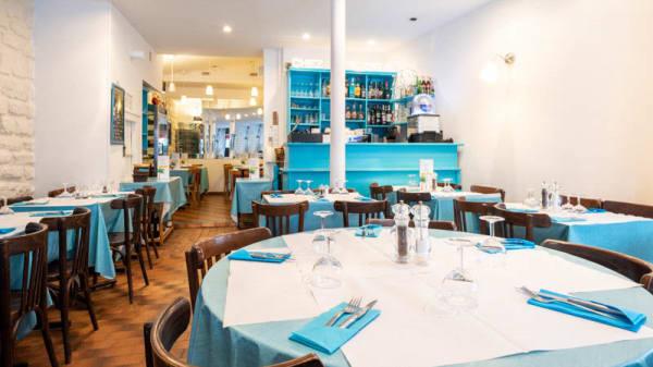 Vue de la salle - Chez les Osias restaurant paris, Paris