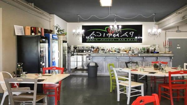Sala del ristorante - Panpica, Zona Industriale di Stiatico