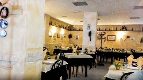 Vista sala - Bontà Casarecce, Frascati