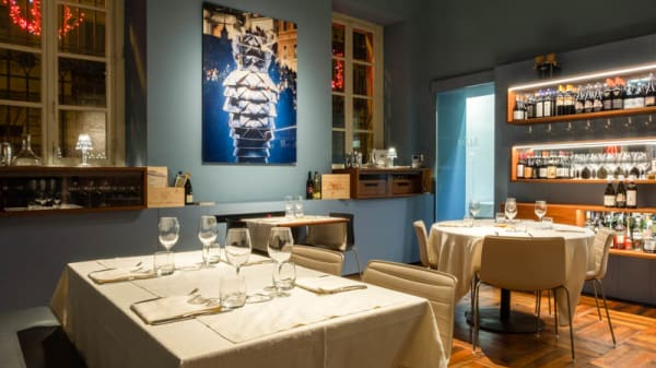 Veduta dell interno - Mille Restaurant, Torino