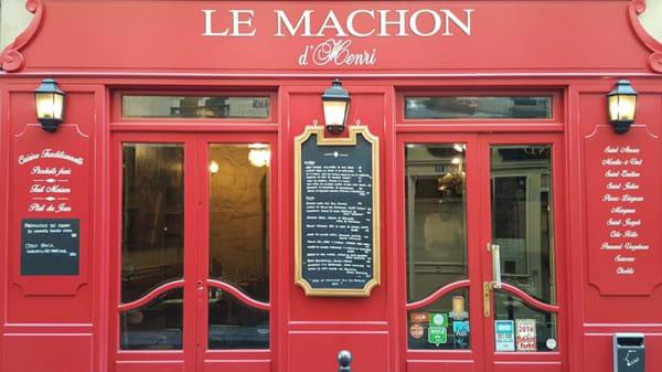 Devanture - Le Machon d'Henri, Paris-6E-Arrondissement