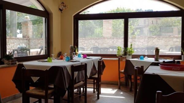 Vista sala - Ristorante Montenero, Amelia