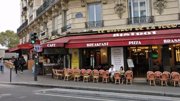 """Terrasse - Prateiffel """"Bistrot de la Tour"""", Paris"""