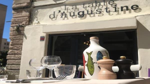 Table d'Augistine - La Table d'Augustine, Marseille
