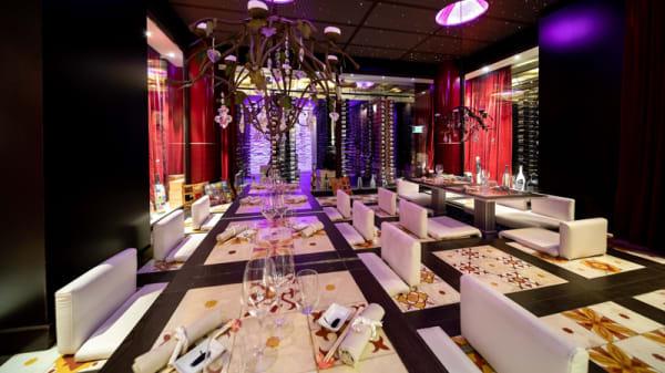 Sala cromo dinner - Sushi Beach, Savona