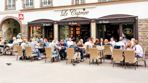 Terrasse - Le Caprice, Colmar