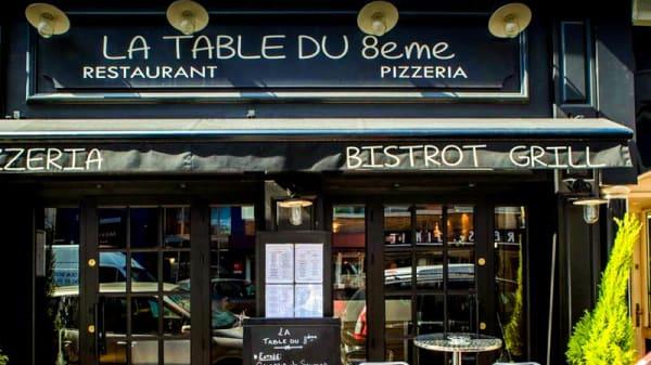 Entrée - La Table du 8ème, Marseille