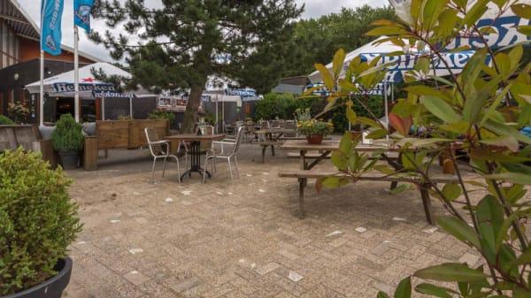 Terras - Restaurant de Heuvel, Velsen-Zuid