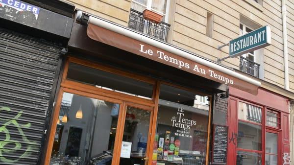 Bienvenue au restaurant Le Temps Au Temps - Le Temps au Temps, Paris