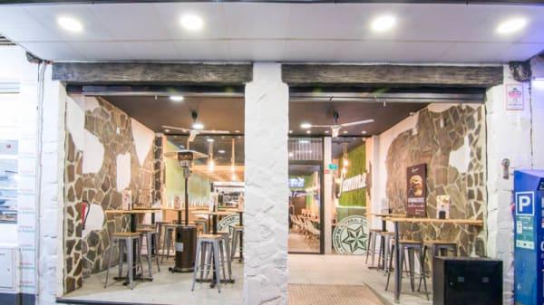 Entrada - Fiamma Burger&Grill, Granada
