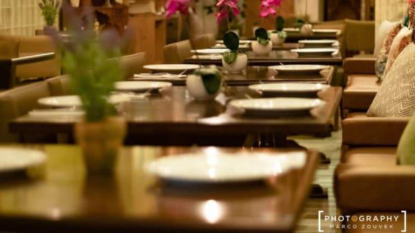 Vista de la sala - Damasco Arabian Restaurant, Barcelona