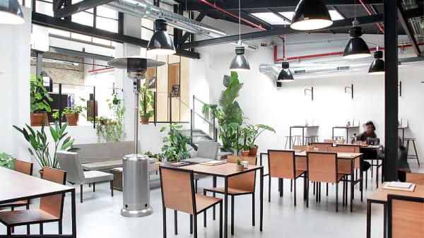 vista interior - Wer-Haus, Barcelona