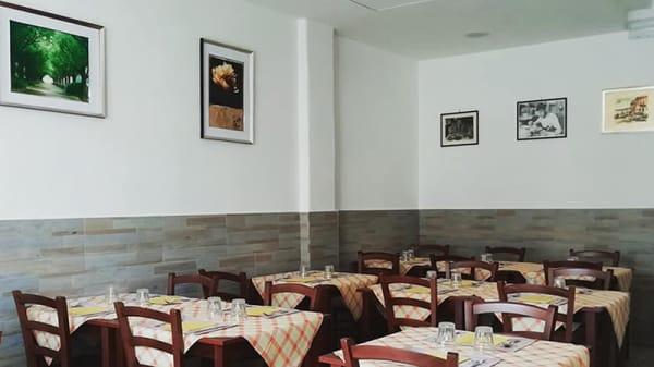 Vista della sala - Locanda Casale, Rome
