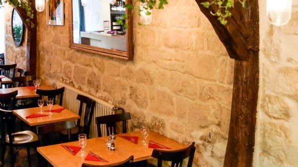 La salle de dégustation - Les Vins des Dames, Paris