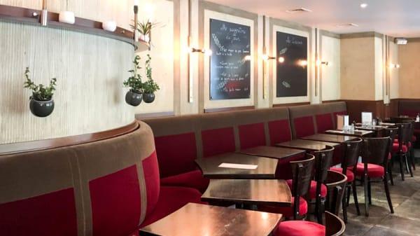 Vue ensemble de la salle - Le Café de Pauline, Paris-12E-Arrondissement